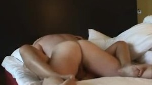 couple having sex in a hotel room