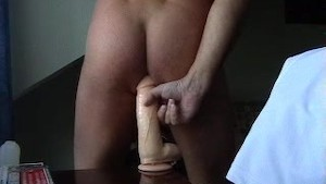 fleshlite and big dildo