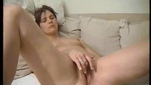 Horny bitch is not amused about cumshot