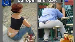 The main difference between Europe and the USA