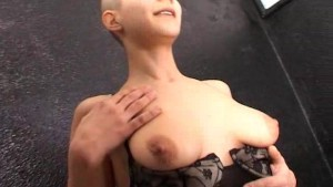 Bald Katia strips for us