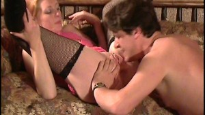 Horny hottie films a scene 4/6