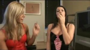 2 smoking hot chicks Tiffany and Sarah