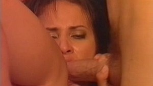 brunette anal destruction