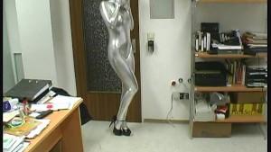 Office Girl Elisa in spandex