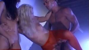 Sexy Blonde & Brunette Getting Fucked Hard!