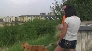 Renata Walking Dog