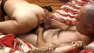 Big tits granny fanny gets tapped