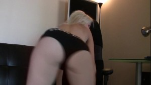 Sammy Spade has big tits and a round butt