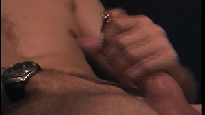 Jerking off with a cockrings on Pt.2/2