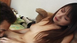 Licking her hairy pussy - Pompie