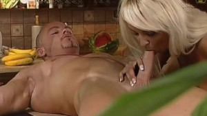 Morning Fuck in the Kitchen!