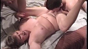 Taking on 3 dicks at one time PT.1/2