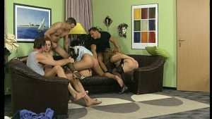 Wedding party fuck each other