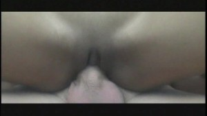 Asian beauty gets her hole filled then licked