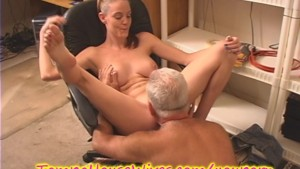 YOUNG HOUSEWIFE gets FUCKED at WORK