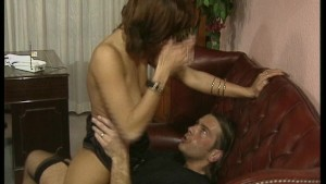Horny guy gives girl DP with her favorite dildo
