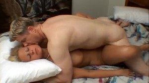 Amatuer blonde fucks on camera for the first time