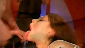 Babe Gargles and Swallows Jizz