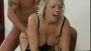 hot cum over moms glasses