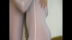 Lesbian couple in nylons (movie)
