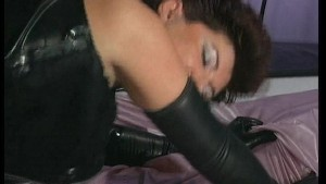 leather and lovely for these two (CLIP)