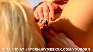 Jayden and Rebecca Blue Lesbos