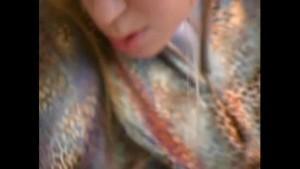 Lucie in crazy spandex wear (clip)