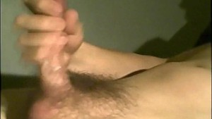 Stroking to Hot Squirting Orgasm
