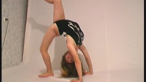 Ballerina Regina from east europe (clip)