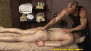 Brent s First Erotic Massage