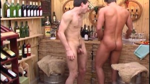 Gay buddies at the bar - Puppy Productions