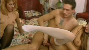 Two retro babes in a threesome - Venality Productions