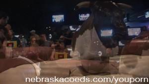 Lingerie Bull Riding Part 1