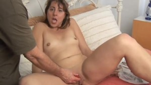 Cute MILF gets manhandled