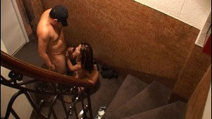 Fucking right on the stairs - Latin-Hot