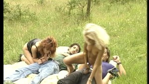 Taking a ride with horny chicks - DBM Video