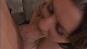 Brunette gets some big cock therapy - Pandemonium