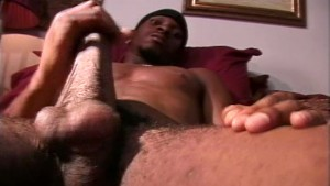 Great black cock shoots a load - Encore Video (Ray Rock Studios)