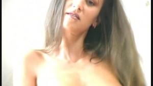 Model Jennifer in nylon pantyhose