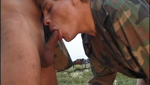 Butt fucked by the army - Latin-Hot