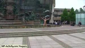 Spectacular Public Nudity With Sweet Celine aka Evi C.