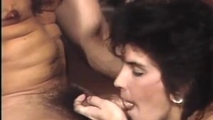 Testing female holes in group fuck