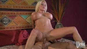 HOT blonde mistress Nikita Von James is fucked rough & hard