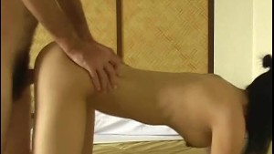 Sexy Asian fucked from behind!
