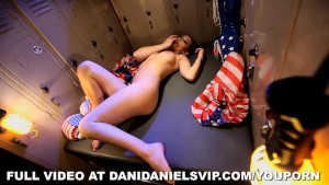 Dani Daniels Locker Room Boxer