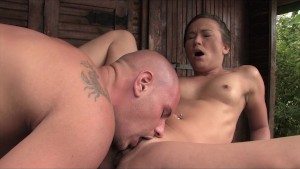 POV Outdoor Fucking with Nicky Sweet