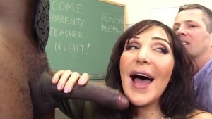 Slutty Teacher Anal Cuckold for Big Tits MILF