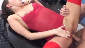 InnocentHigh Valentine Special Horny Missy Stone rides her fave teacher