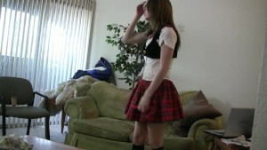Schoolgirl gets naughty - Lucullian Content